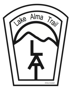 Logo for the trail, designed by UAFS student, Ashley Campbell