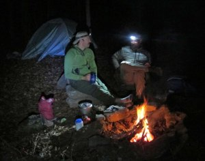 Campfire conversation...