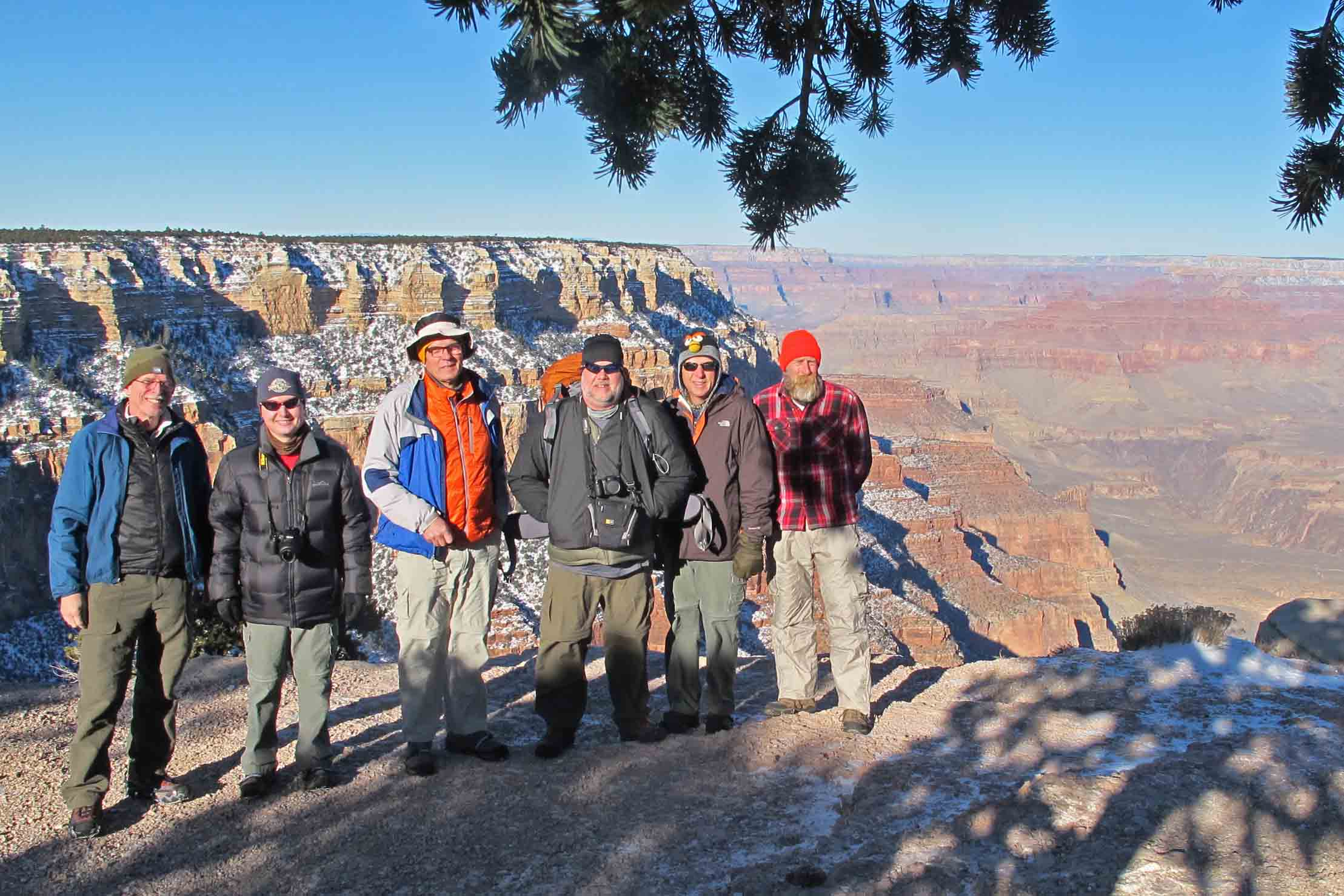 Backpacking The Grand Canyon In Winter Ozarkmountainhiker