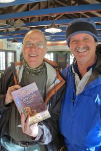 Wayne Ranney with Scott at Phantom Ranch