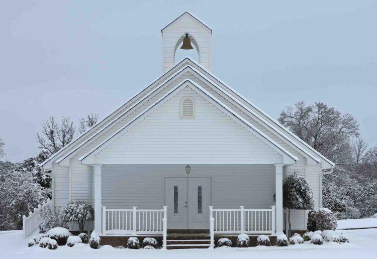 Little church on Highway 71