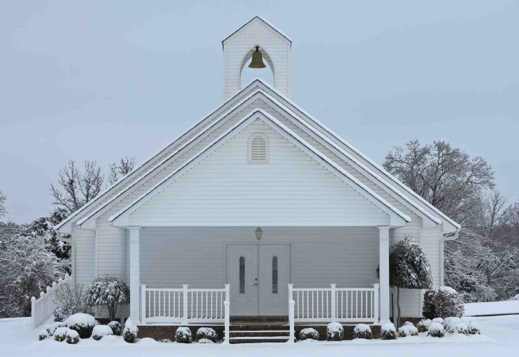 Little church on Highway 71