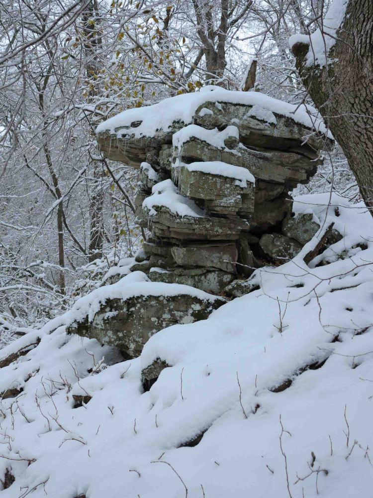 Little Pedestal Rock