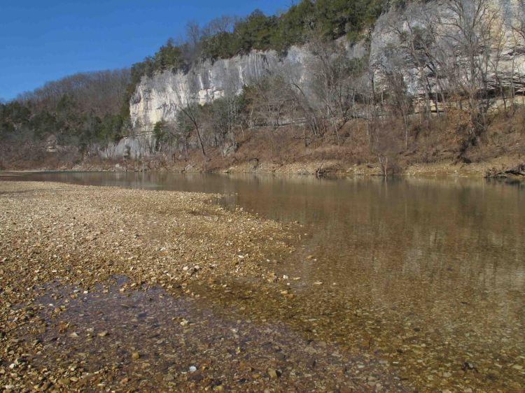 Buffalo River at Tyler Bend
