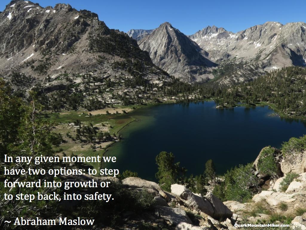 Maslow quote JMT Warnock
