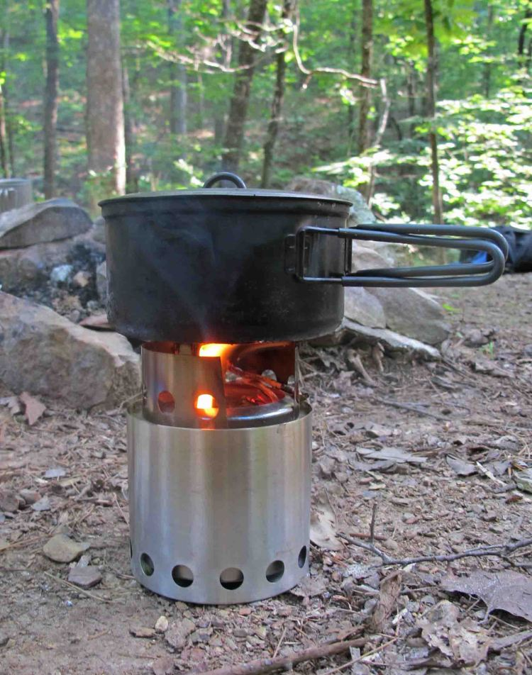 Maiden voyage with Solo Wood Stove.  It worked well!