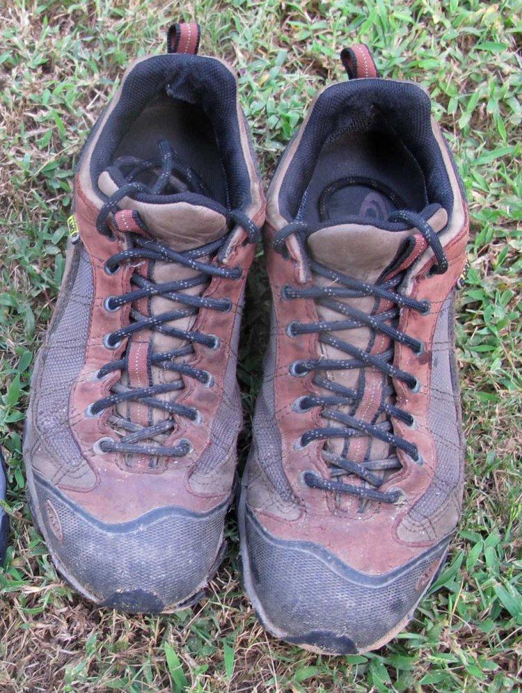 A rich man's shoes.