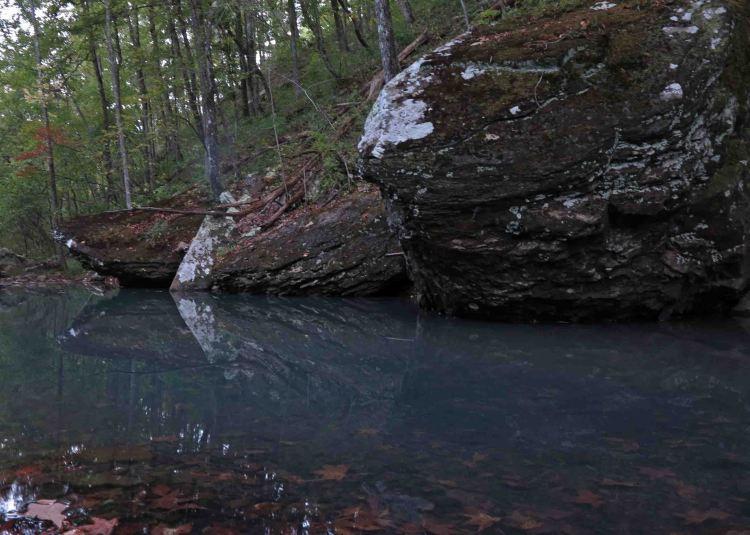 Small pool on Spirits Creek