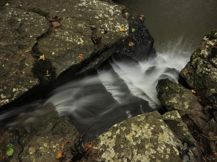 Drainage below McWater Falls.
