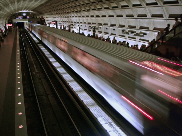 The Metro in Washington, DC