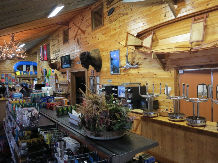 Inside the Buffalo Outdoor Center