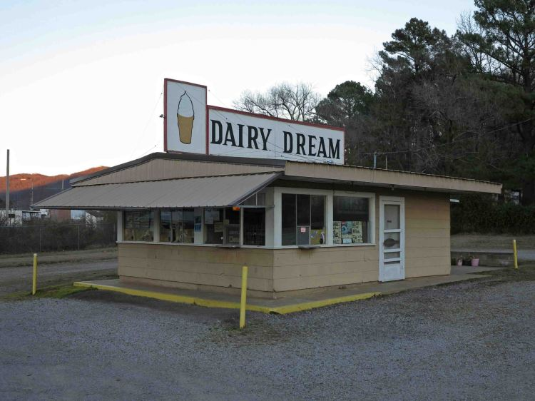 Dairy Dream in Mountainburg.