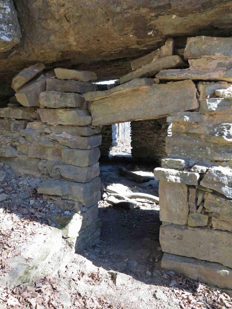 Back door of the Rock House