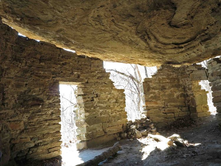 Inside the Rock House