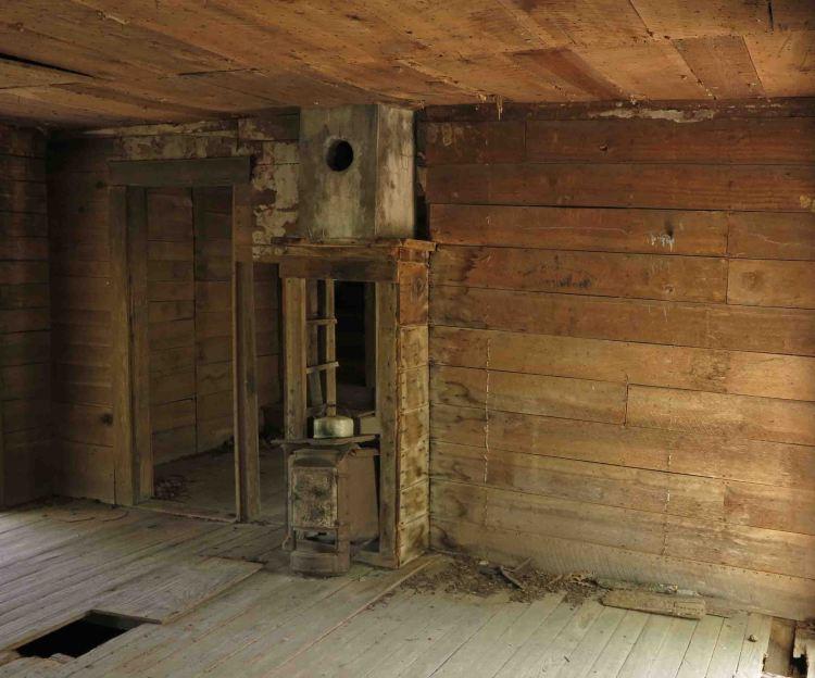 Inside Granny Henderson's House