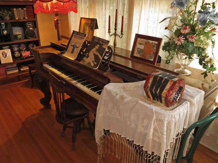 Antiques in the main house