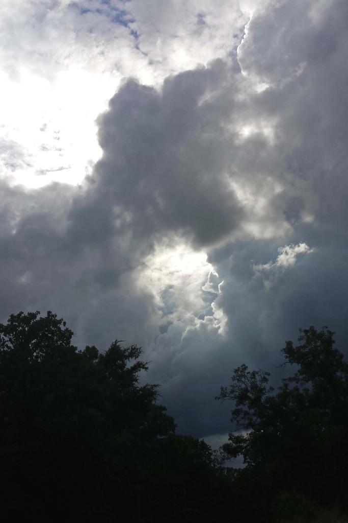 summer thunderstorms