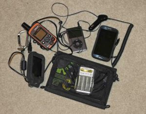Just a few of the technology choices backpackers have when hitting the trail.