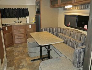 Dinette and kitchen.