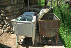Do-it-yourself clothes washing