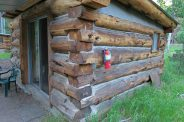 Rustic cabins built to last