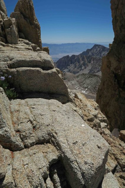 Stunning views all along the Mt. Whitney trail