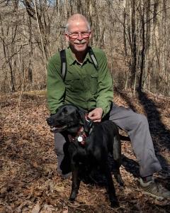 Hiker-dog Jim