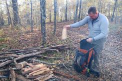 Packing in extra firewood