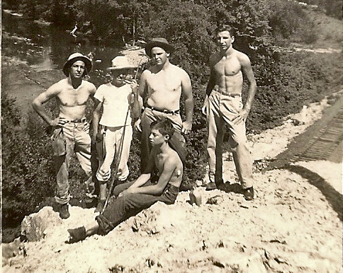 JC Warnock and friends in Hot Springsr