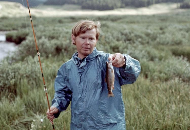 Scott Crook fishing