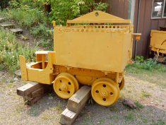 Ore cart at the Bachelor Syracuse Mine
